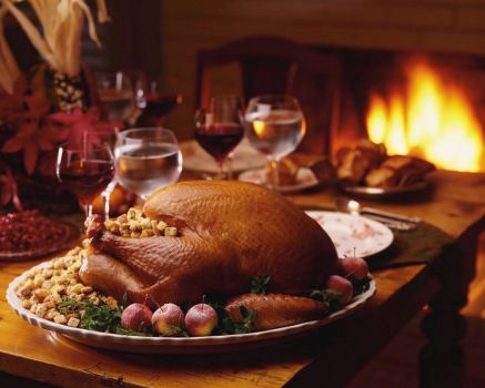Thanksgiving Dinner - What are you thankful for?