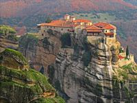 Varlaam Monastery in Malta on a mountain top