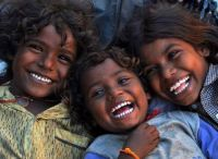 3 ~ 'Kids around the world' ~ Having a big laugh!  :-)) ~ (INDIA)