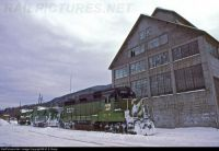 Skykomish, WA Burlington NR EMD GP30