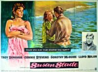 SUSAN SLADE - 1962 MOVIE POSTER  TROY DONAHUE, CONNIE STEVENS, DOROTHY McGUIRE, LLOYD NOLAN