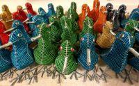 beaded birds - Africa