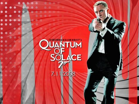 JAMES BOND 007--QUANTUM OF SOLACE !