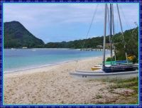 Shoal Bay and Tomaree Mountain.