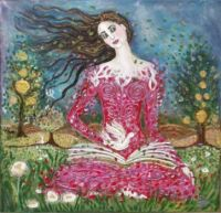 Anne-Mrie Zylberman  Sitting On The Grass