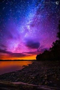 Red-Sky and the Milky Way