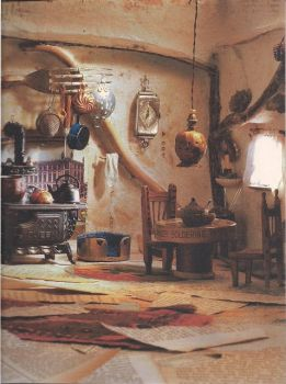 TROMPE-L'OEIL WALLPAPER - FARMHOUSE