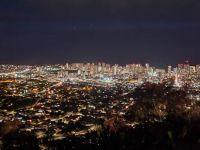 Honolulu nightscape