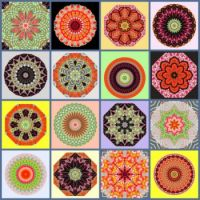 Fabric Kaleido Collage: Small