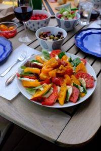 First summer dinner,