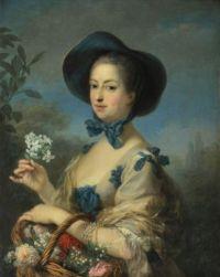 Charles-André van Loo La Marquise de Pompadour en jardinière c. 1754-1755