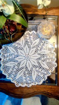 Crochet Doily - Lilly of the Valley