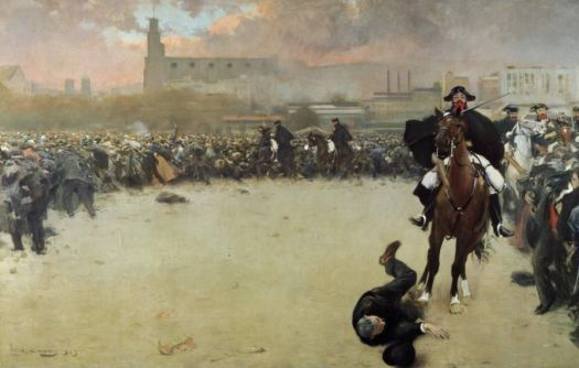 "Ramon Casas i Carbó, ""The Charge of Barcelona"" 1902"