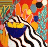 Flower Pot in Orange
