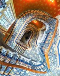 Painted Stairwell