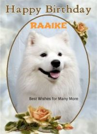 Happy Birthday, Raaike!