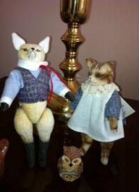 Fox Kitten and Owlet