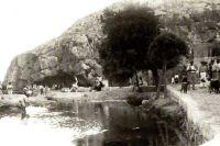 Xlendi Bay in 1900 (Gozo)