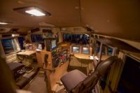 CN 8952 GTW Heritage Unit cab interior