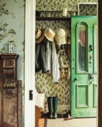 Green Cottage Door