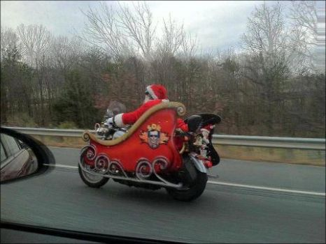 SANTA'S NEW WHEELS