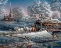 Morning Frost....Painting by Terry Redlin