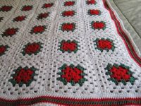 crochet afghan for this years raffle at Christmas.