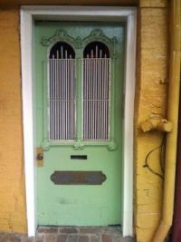 New Orleans - French Quarter - Green Door