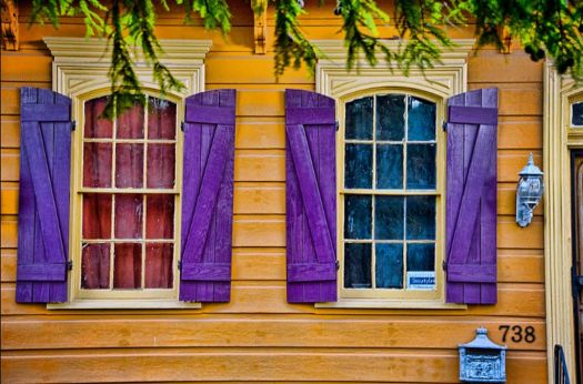 New Orleans Shutters
