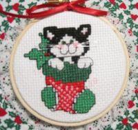 24 - Kitty Stocking