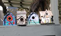 Suzanne's bird houses