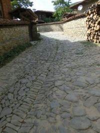 Street in Jeravna, Bulgaria