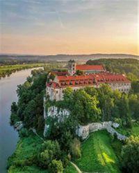 Benedictine Abbey, Tyniec (Kraków), Poland