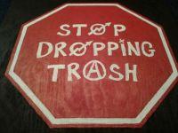 Stop dropping trash