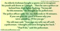 IRISH CRAIC AND HUMOUR