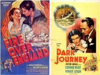 Vivien Leigh ~ Fire Over England ~ 1937 and Dark Journey ~ 1937