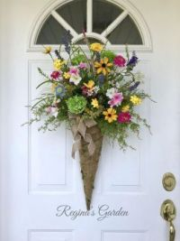 Wildflowers door