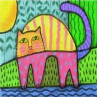 Ludtke: Abstract Cat