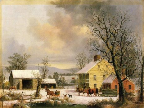 Winter in the Country by George Henry Durrie
