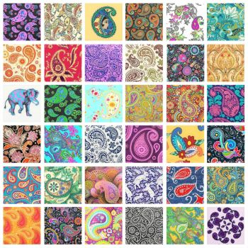 PATCHWORK PAISLEY 8