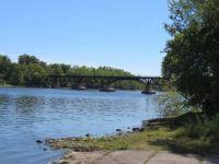 Railroad over Mississippi River