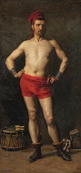 Marie François Firmin-Girard (1838–1921), Wrestler
