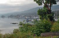 A FOGGY DAY AT SALT SPRING ISLAND
