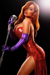 Could this be the real Jessica Rabbit?