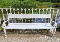 Mariánské Lázně - lavička v parku