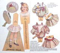 Paper Doll  ~  Jayne's