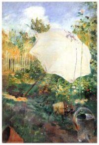 Garden in Grez - Zahrada v Grezu - 1883