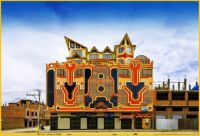 megalomaniatic houses of rich indigenous people-Ajmar in Bolivia