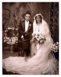 Wedding photo by James VanDerZee (Harlem Rennaissance)
