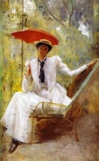 Lady with a Parasol 1893 Tom Roberts